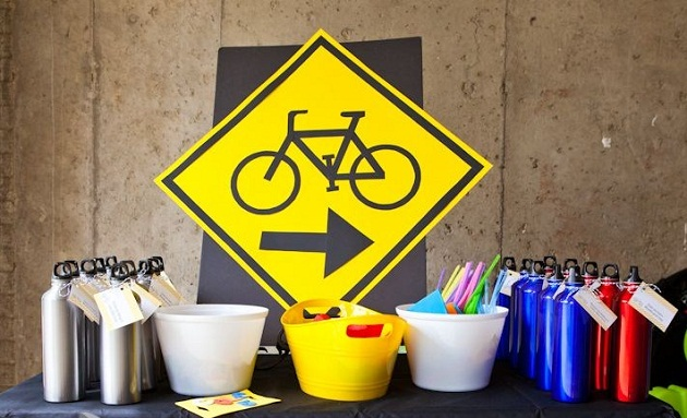 Bike Themed Birthday Party Guest Feature Celebrations