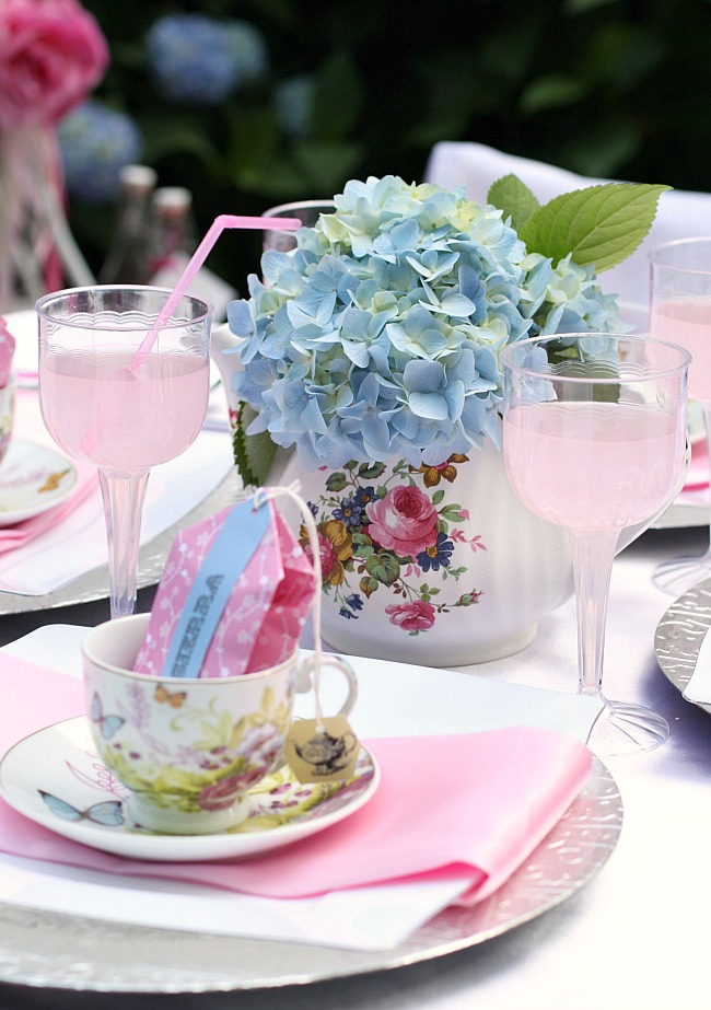 Great Ideas For A Little Girls Tea Party Celebrations At