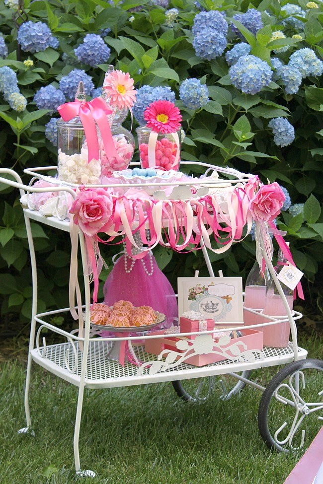 Great Ideas For A Little Girls Tea Party Celebrations At Home