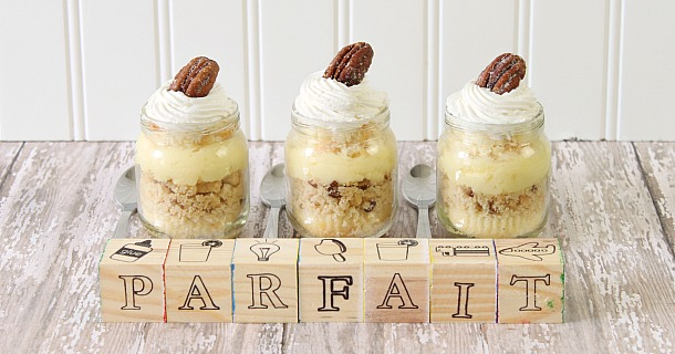 Dessert Parfaits Recipe {With Cute Baby Shower Presentation}