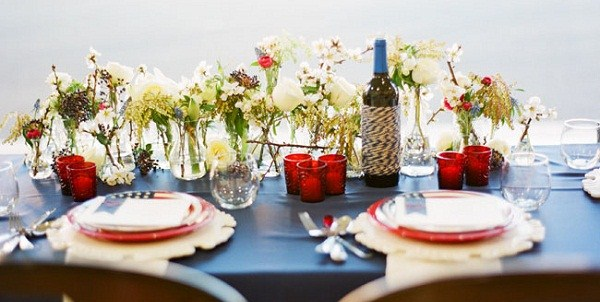 Red, White, & Blue Tabletop {Guest Feature}