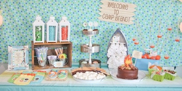 Summer Camp Themed Party {Guest Feature}