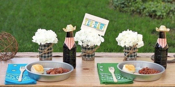 Cowboy Themed Party Ideas