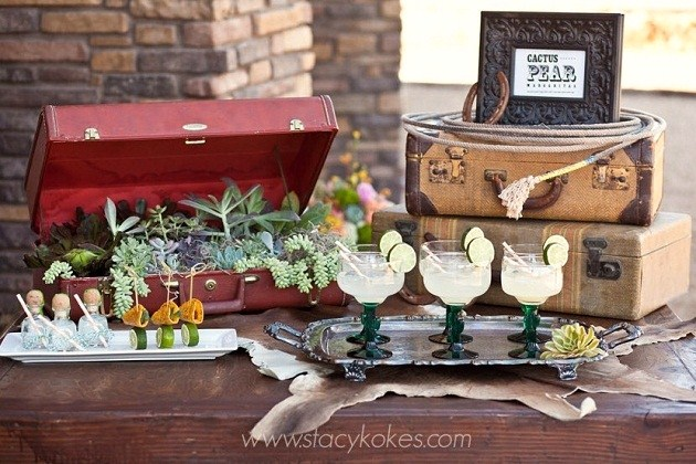 Chic Western Theme Wedding Shoot