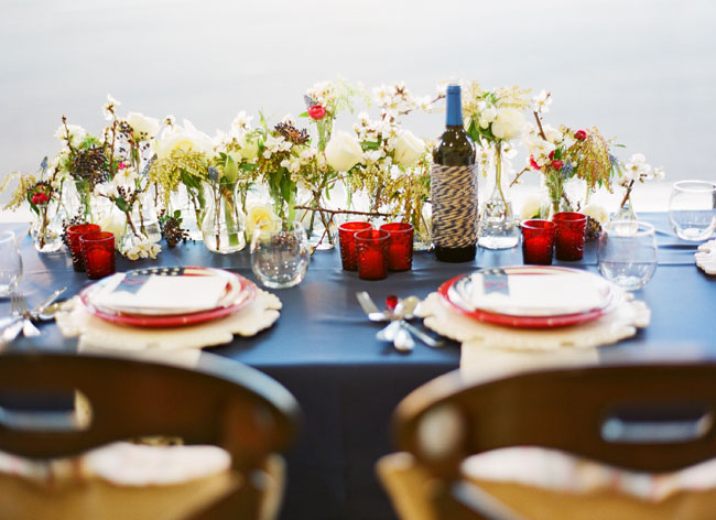 Red White Blue Tabletop Celebrations At Home