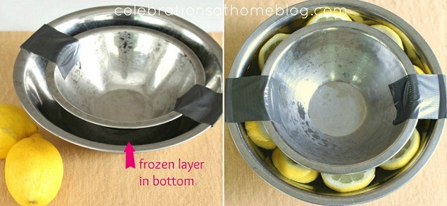 See how to make an ice bowl when entertaining at home. It's an easy but impressive presentation for cold foods. See directions, here.