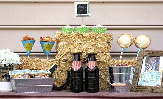 ... cowboy themed party ideas; western party ideas ... & Cowboy Themed Party Ideas - Celebrations at Home