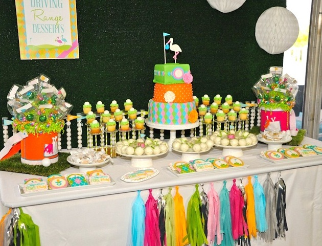 Pleasing Preppy Golf Themed Baby Shower Operation Shower Home Interior And Landscaping Pimpapssignezvosmurscom