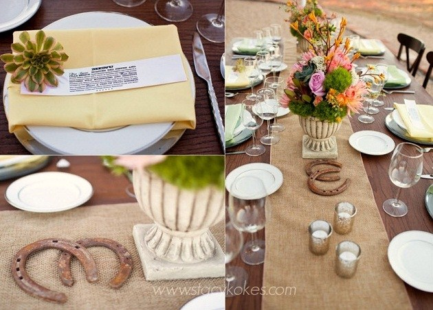 Chic Western Theme Wedding Shoot Guest Feature Celebrations at