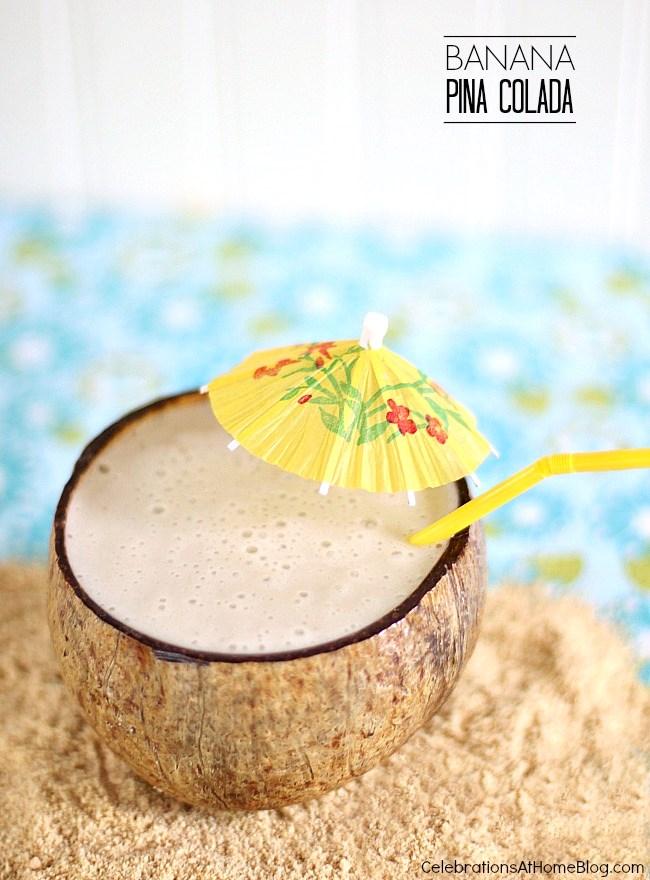 Make this healthier version of a pina colada using Silk as the base.