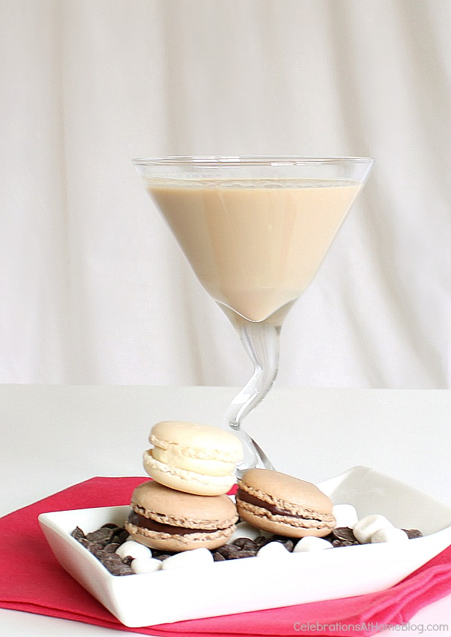 This white chocolate cream cocktail is like dessert in a glass. Get the recipe here.