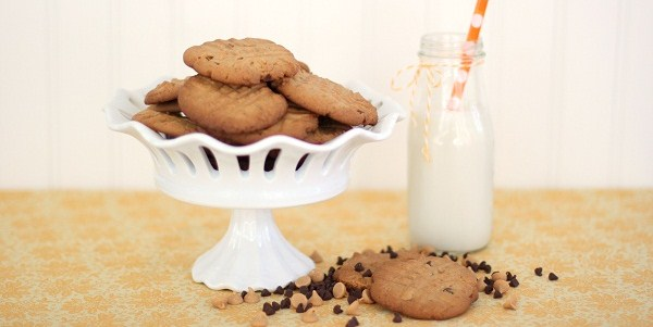 Peanut Butter Double Chip Cookies