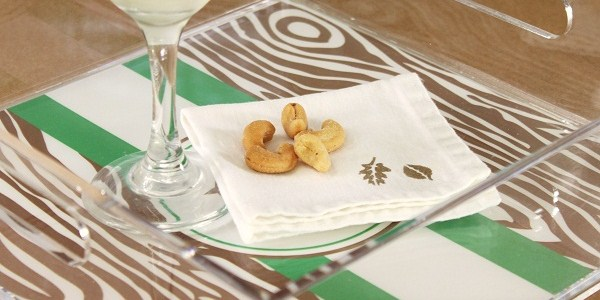 Customize Cloth Napkins With Stencils