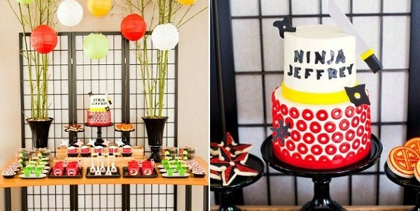 A Lego Ninjago Themed Birthday Party {Guest Feature}