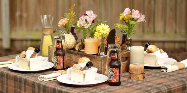 Entertaining : Rustic Fall Table
