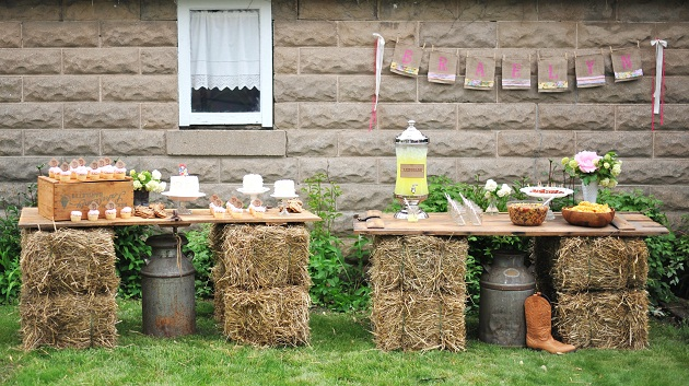 Decoracion Retro Fiesta ~ Vintage Cowgirl 1st Birthday Party {Guest Feature}  Celebrations at