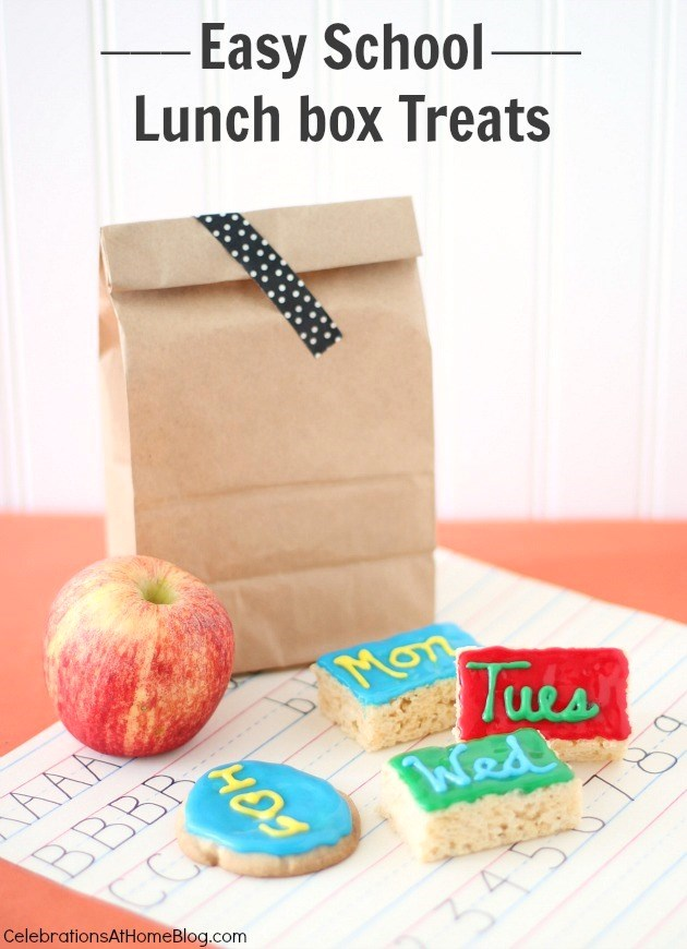 easy school lunch box treats
