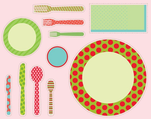 Trend alert paper place mats celebrations at home adorable malvernweather Choice Image
