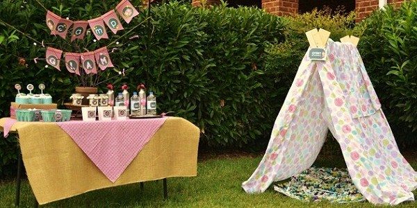 Girly Glam Camping Party {Guest Feature}