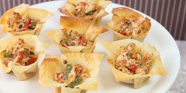 Party Appetizer – Spicy Chicken Cups