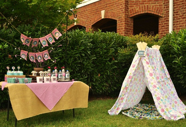 This ... & Girly Glam Camping Party Guest Feature - Celebrations at Home
