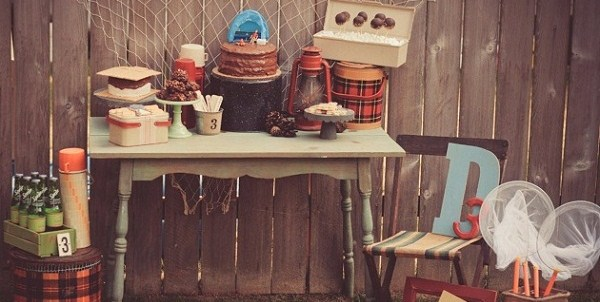 Boys Camping Party {Guest Feature}