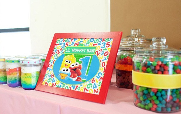 A Colorful Sesame Street 1st Birthday Guest Feature