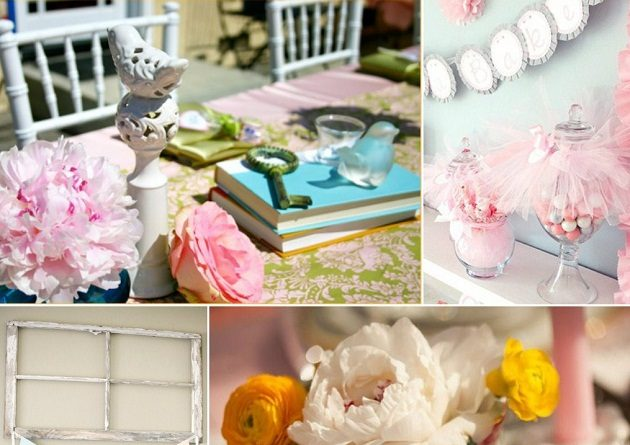 Shabby Chic Baby Shower Inspiration