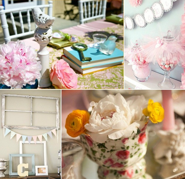 shabby chic baby shower inspiration celebrations at home
