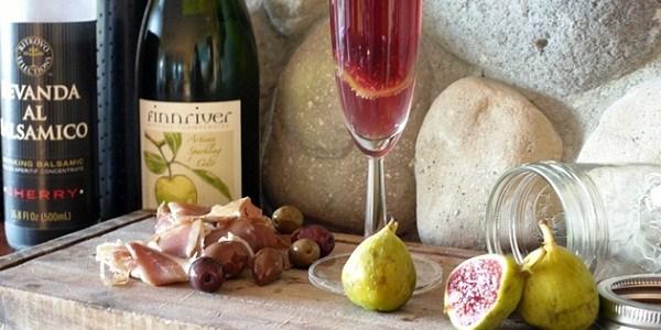 Balsamic Apple Cider Cocktail {guest blogger}