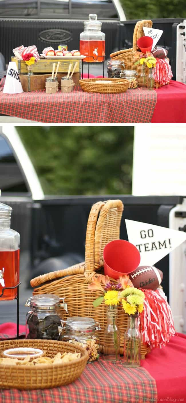 Set up a fun and stylish tailgate party at your next football game. These tips, ideas, and recipes for a football party will get you started.