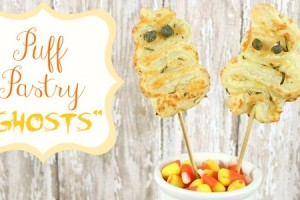 PUFF PASTRY GHOSTS