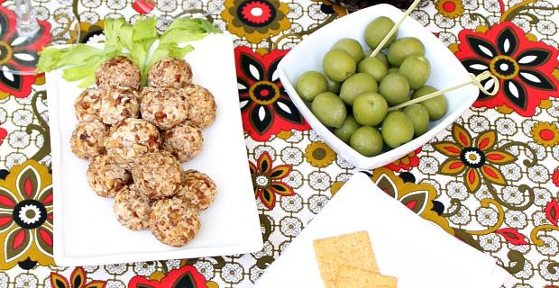 "Cheese Ball Recipe: ""Grape Cluster"" Cheese Truffles"