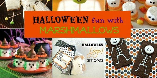 10 Halloween Treats Using Marshmallows