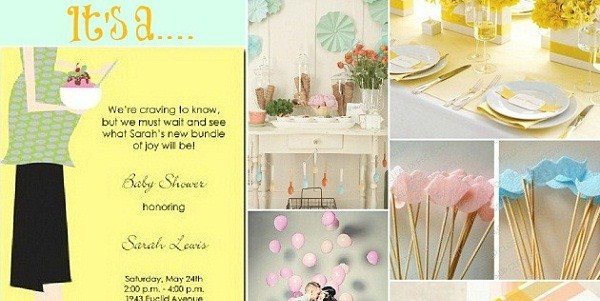 Baby Shower Inspiration By Rutherford Papers