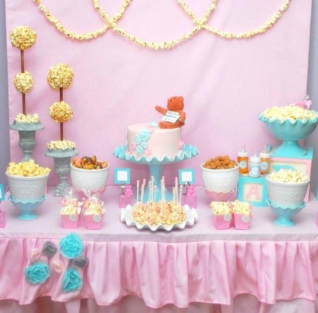 baby shower food ideas baby shower ideas pink and blue