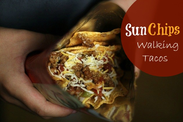 You've heard of walking tacos right? Well how about these SunChips tacos in a bag! They are delicious and a great idea for casual entertaining at home.