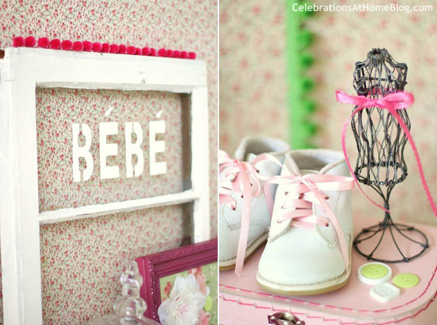 Shabby Chic Baby Shower — Celebrations at Home