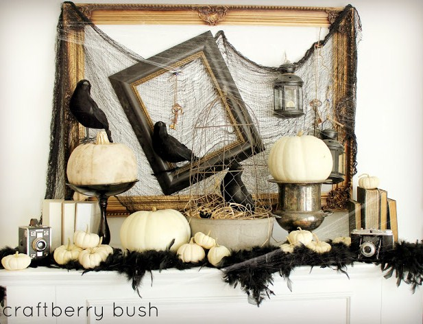 empty - Black And White Halloween Decor