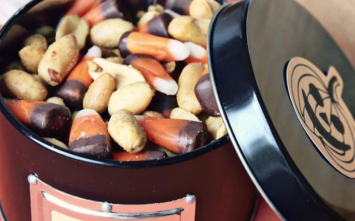 Fall & Halloween Candy Corn Snack Mix