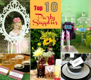 top 10 party supplies