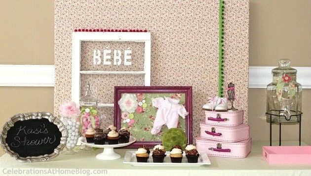 Shabby Chic Baby Shower - Celebrations at Home