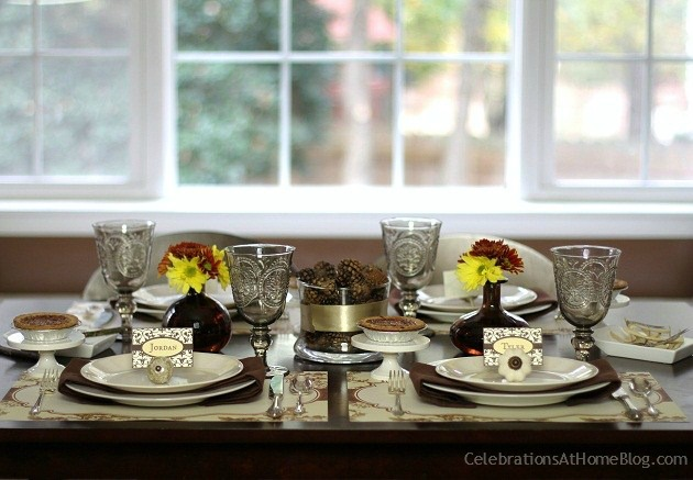 Tablescape Ideas thanksgiving tablescape ideas - celebrations at home