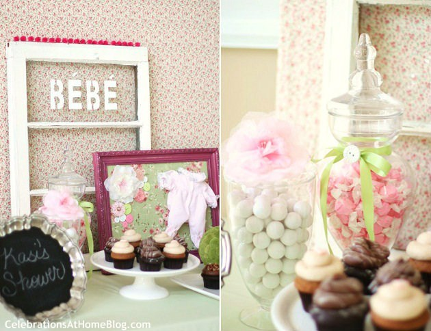 shabby chic baby shower celebrations at home