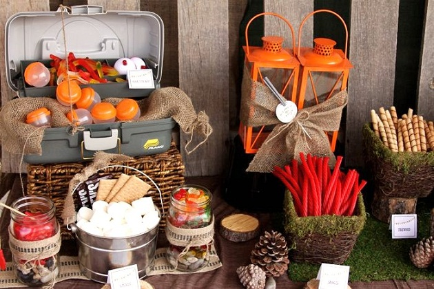 Backyard Camping Party Guest Feature Celebrations At Home