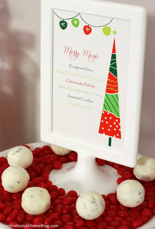 Family Christmas Party Ideas Part - 50: ... These Family Friendly Christmas Party Ideas Are Full Of Whimsical  Touches Done In Classic Red And