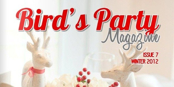 Bird's Party Magazine – Holiday 2012