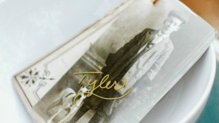 DIY Vintage Style Place Cards