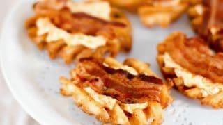 Easy Party Appetizer Cheesy Bacon Potato Bites