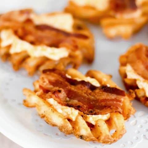 Cheesy Bacon Potato Bites party appetizer recipe